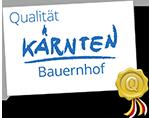 QualitaetKaernten_Siegel_Auszeichnung_Bauernhof_klein