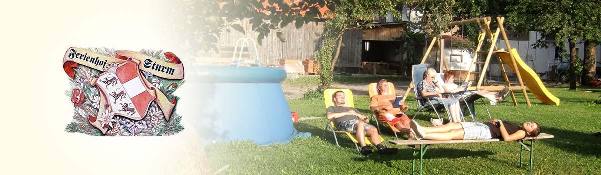 Relaxen am Ferienhof Sturm